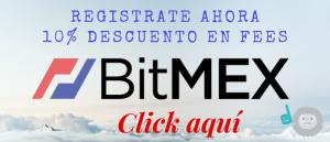 Bitmex Registro Descuento